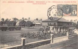 Guinée  Française / Conakry - Belle Oblitération - 39 - Bâtiments Du Chemin De Fer - Guinée Française