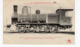 LES LOCOMOTIVES  (Belgique) Pour Trains De Marchandises Construite Par La S. Anonyme De St Léonard à Liège (Belgique). - Treni