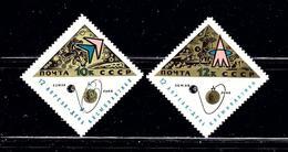 Russia 3193-94 MNH 1966 Set - Russia & USSR
