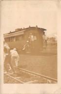 Guinée  Française / Conakry - Belle Oblitération - 44 - Carte Photo - Train - Très Beau Cliché - Guinée Française