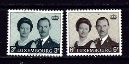 Luxemburg 415-16 MH 1964 Set - Unclassified