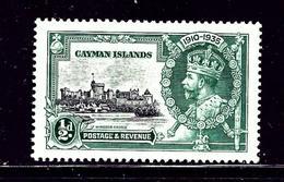 Cayman Is 81 MNH 1935 KGV SilverJubilee - Cayman Islands