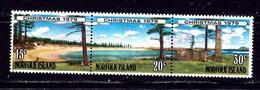 Norfolk Is 253b MNH 1979 Christmas Strip Of 3 - Norfolk Island