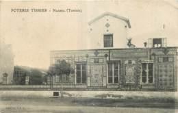 TUNISIE - POTERIE TISSIER - NABEUL - Edition J.A.C. - Tunisie