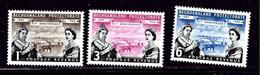 Bechuanaland 166-68 MH 1960 Set - Aland