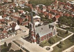 Schoten : Luchtopname --- Kerk St. Cordula - Schoten