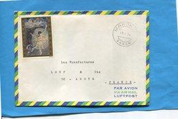 MARCOPHILIE-Gabon-lettre   >Françe-cad-Makokou-1974-stamp N°A147-picture-DEGAS -Danseuse - Gabon (1960-...)