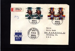 Finland 1974 UPU Interesting Registered Letter - UPU (Universal Postal Union)