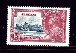 St Helena 111 MNH 1935 KGV Silver Jubilee - Unclassified