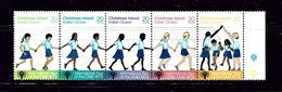 Christmas Is 89 MNH 1979 Year Of The Child Strip Of 5 - Unclassified