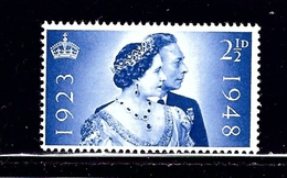 Great Britain 267 MNH 1948 KGVI Silver Wedding Low Value #1 - Unclassified