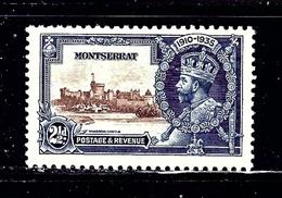 Montserrat 87 MNH 1935 KGV Silver Jubilee - Unclassified