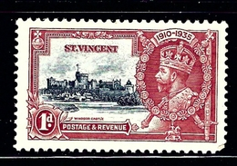 St Vincent 134 MNH 1935 KGV Silver Jubilee - Unclassified