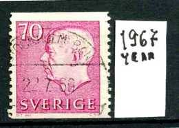 SVEZIA - SVERIGE - Year 1967 - Usato - Used - Utilisè - Gebraucht.- - Suecia