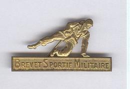 Badge Brevet Sportif Militaire - Pas De Marque Fabricant - France