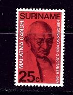 Surinam 365 MH 1969 Mohatma Gandhi - Surinam