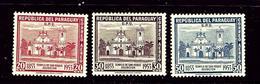 Paraguay C205-07 MH 1954 Partial Set - Paraguay