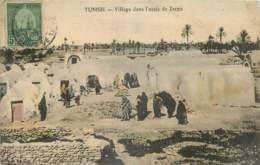 TUNISIE - VILLAGE DANS L'OASIS DE ZARZIS - Edition P. Louit Tunis - 2 - Tunisie
