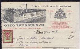 AUSTRIA WIEN - OTTO TAUSSIG - INVOICE RECHNUNG FAKTURA 1925 (see Sales Conditions) - Autriche