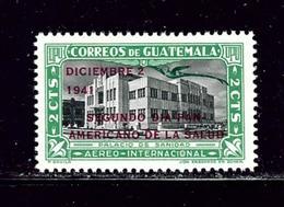 Guatemala C124 MNH 1941 Overprint - Guatemala