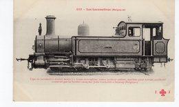LES LOCOMOTIVES  (Belgique) Locomotive Tender Mixte Construite Par La S. Anonyme John Cockerill à Seraing  (Belgique). - Treni