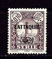 Latakia #2 Hinged 1933 Overprint On Stamp Of Syria - Syria