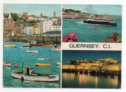 CPSM - GUERNSEY - GUERNESEY - Multivues - Coul - Déb 70 - - Guernsey
