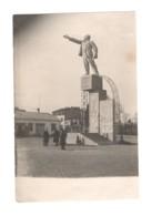 1534 Batum Batumi Lenin Monument Constructivism Bauhaus Style RPPC 1930s - Géorgie
