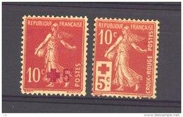 France  :  Yv  146-47  * - France