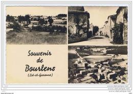 Cpsm..47..BOURLENS...MULTIVUES..A VOIR.. - France