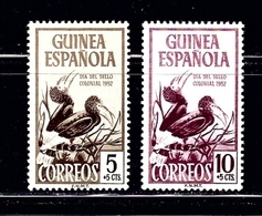Spanish Guinea B22-23 MH 1952 Birds - Guinea (1958-...)