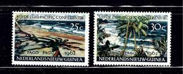 Netherland New Guinea 46-47 MNH 1962 Set - Guinée (1958-...)