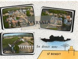 CPSM  St Benoit  Multivues - Saint Benoit
