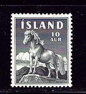 Iceland 311 MH 1958 Horse - Iceland