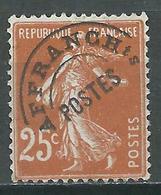 France Préoblitérés YT N°57 Semeuse Fond Plein Oblitéré ° - 1893-1947
