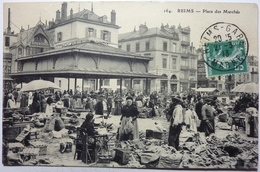 PLACE DES MARCHÉS - REIMS - Reims