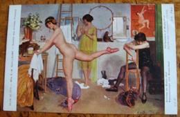 Mlle R M Guillaume Salon 1911 Artistes De Music-Hall Nu Danse - Other Illustrators