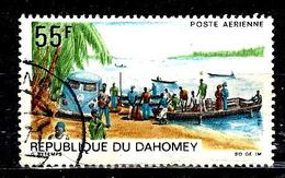 DAHOMEY Aer87° 55f Polychrome Poste Automobile Rurale (10% De La Cote + 015) - Benin - Dahomey (1960-...)