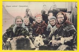 ★★ LAPPER OMBORD I DAMPSKIBET  ! ★★ LAPPWOMEN`S & STEAMER. COLOURED. NORWAY  ★★ - Norvège