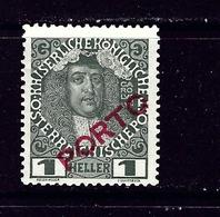 Austria J47 MH 1916 Issue - Austria