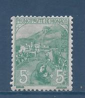 Monaco - YT N° 28 - Neuf Avec Charnière - 1919 - Monaco