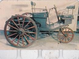Figurine Publicitaire Coop L'Auto à Travers Les âges - N°89 - Serpollet 1888 - Années 60/70 - Tôle - Publicité