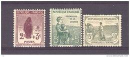 France  :  Yv  148-50  * - France
