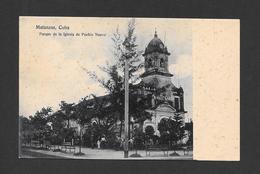 MATANZAS - CUBA - PARQUE DE LA IGLESIA DE PUEBLO NUEVO - BY DUPLEX B. RESINES - Cuba