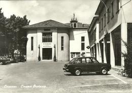 Casazza (Bergamo) Cinema Oratorio, Auto D'Epoca Fiat 850, Old Car, Voiture - Bergamo