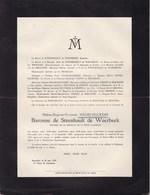 14-18 Médaille De La Reine Elisabeth Hélène NAGELMACKERS Baronne De STEENHAULT De WAERBEEK Liège 1882 - Vollezeele 1932 - Obituary Notices