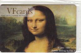 GREECE - Mona Lisa, Painting/Leonardo Da Vinci, VF Promotion Prepaid Card, Tirage 50, Mint - Greece