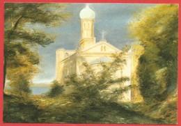 Nikolskoe, Berlin, Wannsee, Kirche  St. Peter U Paul, Pastel Von Olaf Thiede - Wannsee
