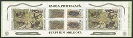 1993 Moldova WWF Snakes Booklet (** / MNH / UMM) - W.W.F.