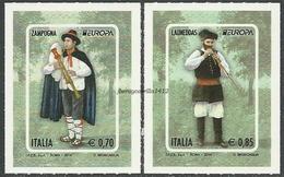 """ITALIA / ITALIEN-  EUROPA 2014-TEMA ANUAL """" INSTRUMENTOS MUSICALES NACIONALES""""- SERIE De 2 V. - Europa-CEPT"""